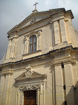 Church of the Nativity of Our Lady, Rabat - Façade of the church