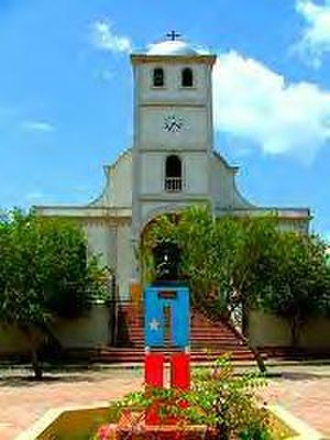 Independence movement in Puerto Rico - Roman Catholic Church and Plaza de la Revolución in Lares, where the 1868 Grito de Lares  took place