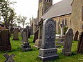 Churchyard of All Hallows Church, Bispham.jpg