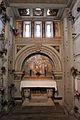 Cimitero dall'antella, cappella di san giorgio, pitture di tito chini e decori della manifattura chini, 1924, 01.JPG