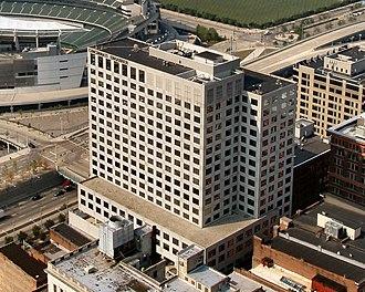 The Cincinnati Enquirer - Cincinnati Enquirer headquarters building at 312 Elm Street, Cincinnati, Ohio.