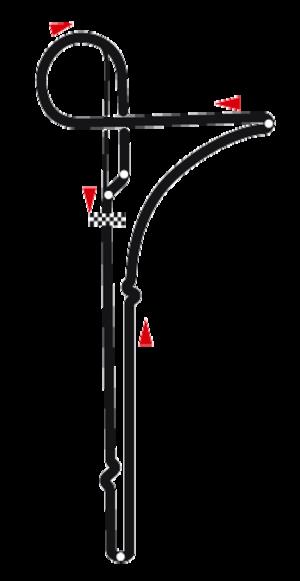 Palanga circuit - Image: Circuit of Palanga