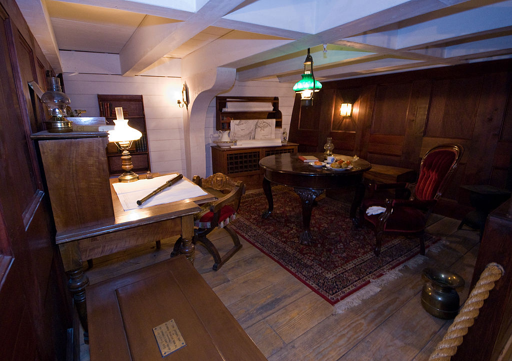 File Civil War Naval Museum Uss Hartford Captain S Cabin