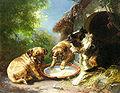 Clara von Wille Hunde vor der Hütte.jpg