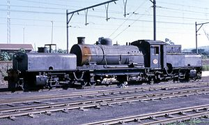 South African Class GDA 2-6-2+2-6-2 - Image: Class GDA no. 2259