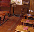 Class room in the Beamish Museum 01.JPG