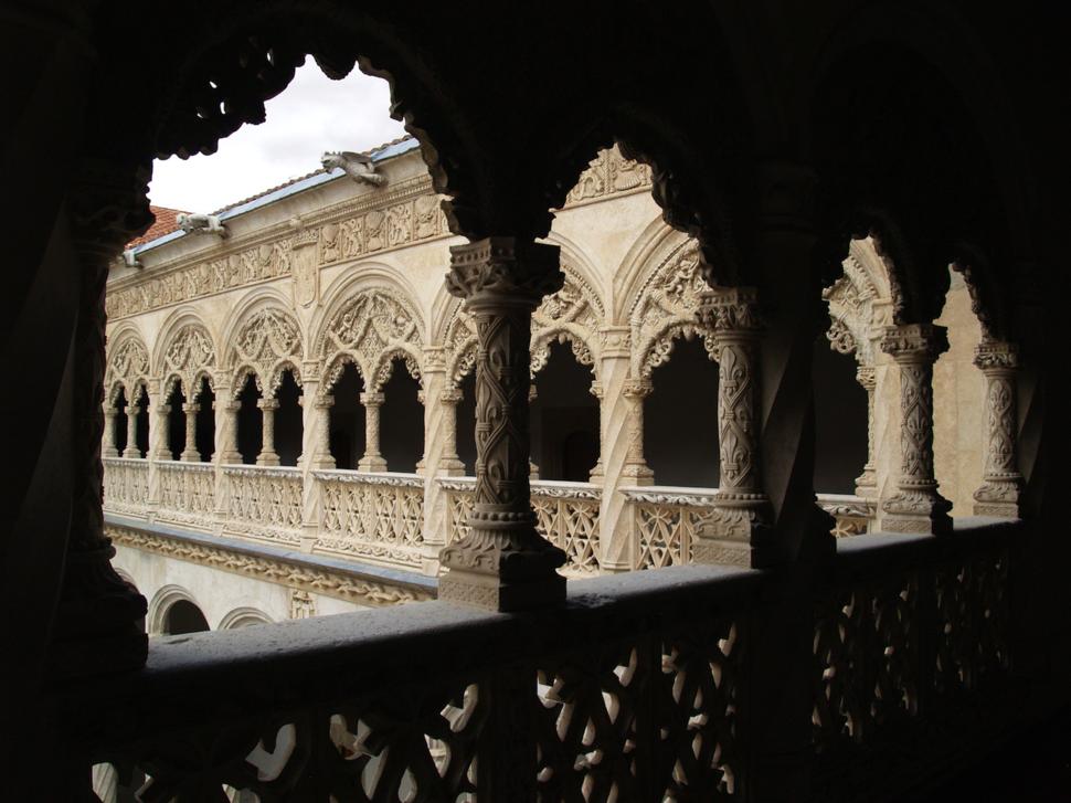 Claustro do Colexio de San Gregorio; Valladolid