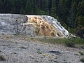 Cleopatra Terrace at Lower Terraces of Mammoth Hot Springs DyeClan.com - panoramio.jpg