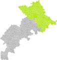 Clermont-le-Fort (Haute-Garonne) dans son Arrondissement.png