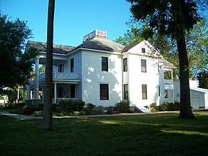 National Register of Historic Places listings in Lake County, Florida - Image: Cliffordhouseeustis 5