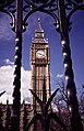 Clock Tower with Big Ben through the Gates of the House of Commons - geograph.org.uk - 42587.jpg