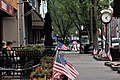 Clock on Broadway, Saratoga Springs, New York.jpg