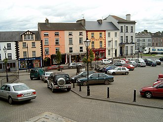 Clones, County Monaghan - Image: Clones town centre
