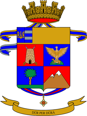 18th Alpini Regiment - Coat of Arms of the 18th Alpini Regiment