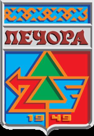Pechora - Image: Coat of Arms of Pechora (Komia) (1983)