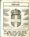 Coat of Arms of Serbia from Stemmatographia by Hristofor Zhefarovich (1741).jpg