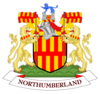 Coat of arms of Northumberland County Council.png