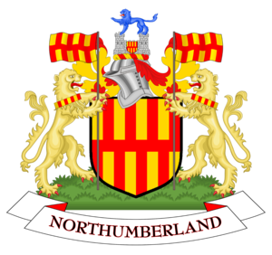 Northumberland County Council - Image: Coat of arms of Northumberland County Council