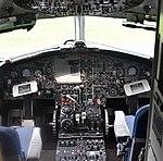 Cockpit of BAC One-Eleven 510ED 'G-AVMO' (39753660142).jpg