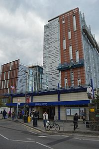 Colindale Underground Station, 11th Oct. 2016.jpg