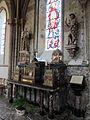 Collégiale Saint-Évroult de Mortain - Autel secondaire dédié à Saint Guillaume Firmat.JPG