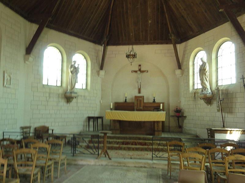 Colligis-Crandelain (Aisne) église Saint-Nicolas de Colligis