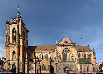 St Martin's Church, Colmar - Image: Colmar St Martin church panorama 2011 04