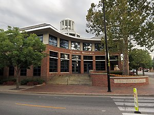 Columbia Missourian - The Columbia Missourian headquarters.