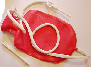 Enema kit for use during a colon cleanse