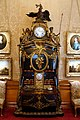 Combined fall-front desk, cabinet, and clock, by René Dubois and Jean Goyer, France, c. 1770 - Waddesdon Manor - Buckinghamshire, England - DSC07702.jpg