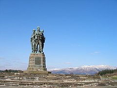 Commando Memorial, Spean Bridge - geograph.org.uk - 377069.jpg