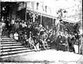 Congrès du Club Alpin, groupe du Casino, Luchon, 1899 (7260753208).jpg