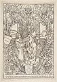 "Conrad Celtis Presenting His Book ""Quatuor Libri Amorum"" to Maximilian I ( from the book) MET DP816435.jpg"