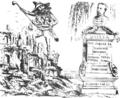 Consecința logică a necrologuluĭ PRESSEI, făcută reposatuluĭ Cuza, séŭ «șapte anĭ de ilusiunĭ perdute», Ghimpele, 13 mai 1873.png