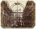 Construction of the 1862 International Exhibition Building at South Kensington (Scaffolding at Main Entrance), RP-F-2009-100.jpg