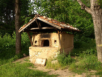 Wood-fired oven - Image: Contry farm oven