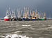 Cooped up Fishing ships in the harbour of Lauwersoog during the 5-6 december 2013 storm 02.jpg