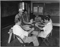 Coosa Valley, Alabama. Posed pictures of meeting by farmers who came to school to collect AAA checks. - NARA - 522662.tif