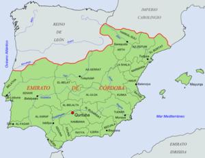 County of Barcelona - Image: Coras del Emirato de Córdoba