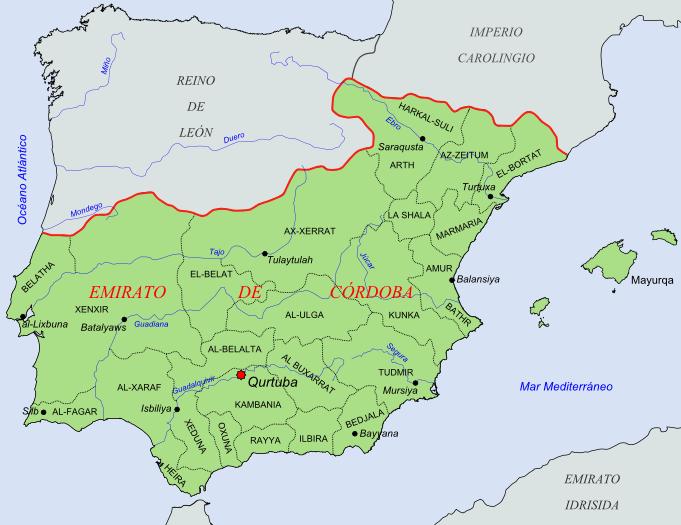 Coras del Emirato de Córdoba