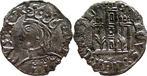 Henry II of Castile - Coins minted by Henry II.