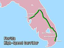 Highspeed Rail In The United States Wikipedia - High speed rail us map