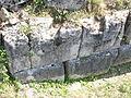 Costesti Cetatuie Dacian Fortress 2011 - Murus Dacicus Detail.jpg