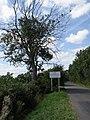 County boundary sign near Luddington - geograph.org.uk - 1506729.jpg