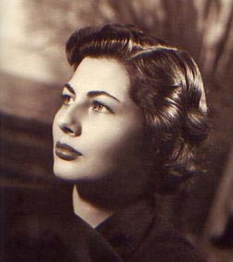 Soraya Esfandiary-Bakhtiari - Soraya in 1953