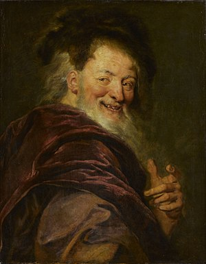 1692 in art - Image: Coypel Democritus