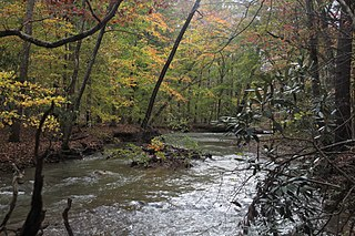 Craig Creek river in the United States of America