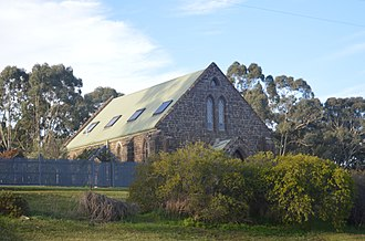 Craigie, Victoria - A former church in Craigie, now converted into a residence, 2017