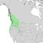 Crataegus douglasii range map 2.png