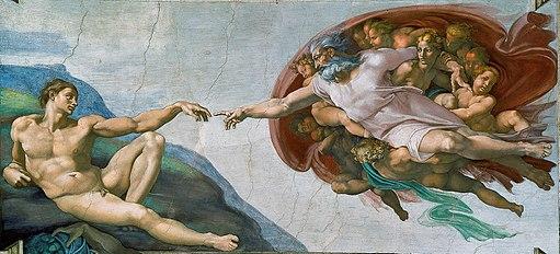Creación de Adán (Miguel Ángel)